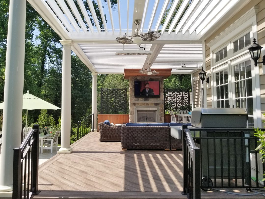 Superieur Louvered Roof Systems For Pergola Patio Covers | Equinox ...