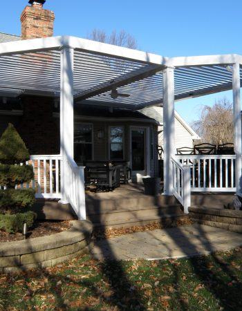 Louvered Roof Systems For Pergola Patio Covers | Equinox ...