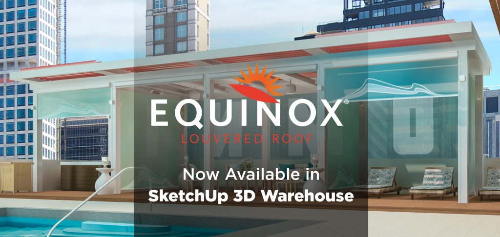 Equinox Available in SketchUp 3D Warehousee
